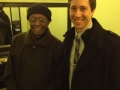 After the concert with Jimmy Heath