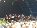 With Freddy Cole and the HR Big Band in Germany