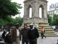 With Curtis Boyd and Freddy Cole In Paris