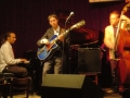With Gerald Clayton (piano) and Dan Lutz (bass)